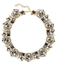 Sparkling Sage - Multicolor 14k Plated Crystal & Resin Necklace - Lyst