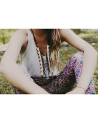 Love Leather - Multicolor Cheyenne Skies Necklace - Lyst