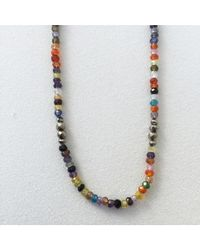 Blue Candy Jewelry - Multicolor Multigemstone Necklace - Lyst