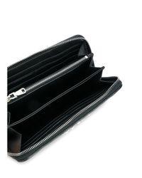 Miu Miu - Women's Black Leather Wallet - Lyst