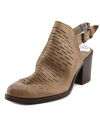 Steve Madden | Brown Patrize Women Pointed Toe Leather Tan Bootie | Lyst