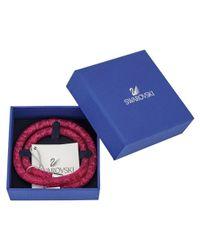 Swarovski - Multicolor Crystal Stardust Plated Wrap Bracelet - Lyst