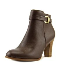 Giani Bernini | Brown Womens Baari Leather Closed Toe Ankle Fashion Boots Fashion Boots | Lyst