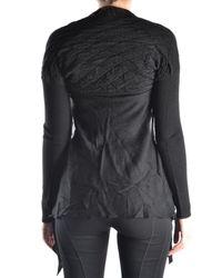 Massimo Rebecchi - Women's Black Wool Cardigan - Lyst