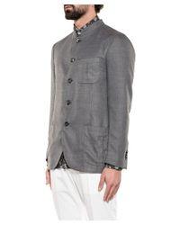 Boglioli - Gray Men's Grey Wool Blazer for Men - Lyst