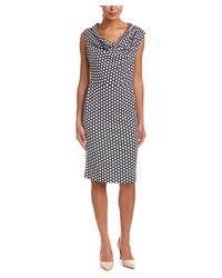 ESCADA - Black Sheath Dress - Lyst
