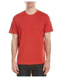 Tori Richard | Red Oceanic Solid T-shirt for Men | Lyst
