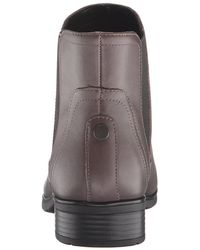 Easy Spirit - Brown Womens Nalli Leather Almond Toe Ankle Fashion Boots - Lyst