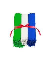 Saachi - White Scarf Gift Set - Lyst