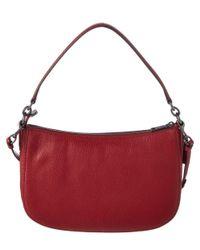 COACH - Blue Chelsea Leather Shoulder Bag - Lyst