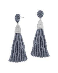 Gottex - Metallic Crystal Drop Earrings - Lyst