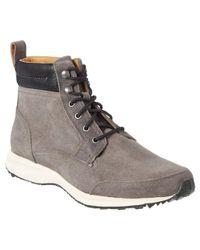 Cole Haan   Gray Branson Suede Sneaker Boot for Men   Lyst