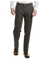 Bills Khakis - Gray Standard Issue Weathered Canvas Classic Fit Pant for Men - Lyst