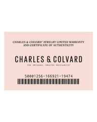 Charles & Colvard - Forever Classic 14k White Gold 1.4mm Moissanite Wedding Band-size 6.5 - Lyst