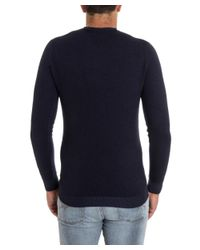 Paolo Pecora - Men's Blue Wool Sweater for Men - Lyst