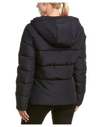 Maje - Black Quilted Coat - Lyst