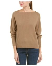 Vince - Brown Cashmere Pullover - Lyst