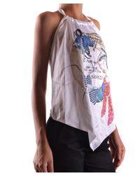 Blugirl Blumarine - Women's Multicolor Polyester Top - Lyst