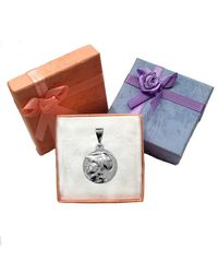 JewelryAffairs - Metallic Sterling Silver Athena Greek Goddess Pendant, Diameter 20mm - Lyst