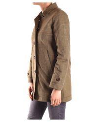 Peuterey - Women's Green Polyamide Coat - Lyst