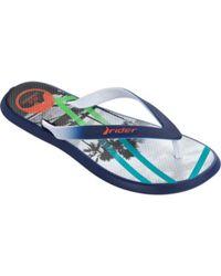 Rider - Gray Men's R1 Energy Vi Thong Sandal for Men - Lyst