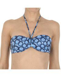 La Perla - Women's Blue Polyamide Bra - Lyst