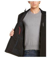 Victorinox - Black Swiss Army Full Zip Jacket for Men - Lyst