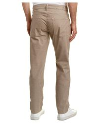 7 For All Mankind - Brown 7 For All Mankind Slimmy Tan Slim Straight Leg for Men - Lyst