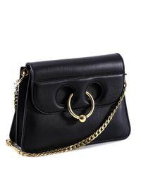J.W. Anderson - Women's Black Leather Shoulder Bag - Lyst