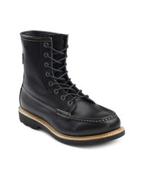 G.H.BASS - Brown . Mens Anthony Premium Leather Work Boot for Men - Lyst