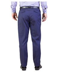 Dior - Homme Men's Wool Slim Fit Trouser Pants Midnight Blue for Men - Lyst