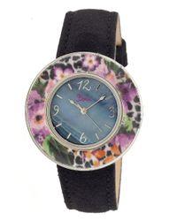 Boum - Black Bouquet Mother-of-pearl Watch - Lyst