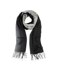 Mila Schon - Women's Black Wool Scarf - Lyst