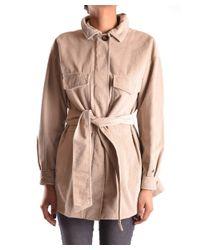 Peuterey - Brown Women's Beige Cotton Trench Coat - Lyst