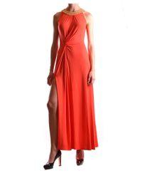 Michael Kors - Women's Red Polyester Dress - Lyst
