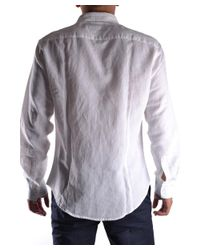 Massimo Rebecchi - Men's White Cotton Shirt for Men - Lyst