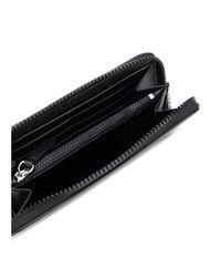 KENZO - Women's Black Leather Wallet - Lyst