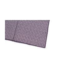 Brunello Cucinelli - Men's Pattern Purple Silk Blend Pocket Square for Men - Lyst