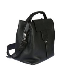 Tod's - Women's Xbwanxe0200riab999 Black Leather Shoulder Bag - Lyst
