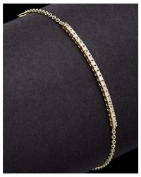 Meira T - Blue 14k 0.24 Ct. Tw. Diamond Tennis Bracelet - Lyst