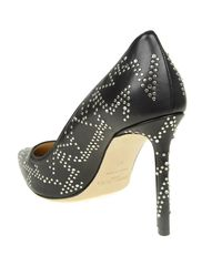 Jimmy Choo - Romy 100 Black Pointy Pumps - Lyst