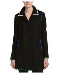 Anne Klein | Black Coat | Lyst