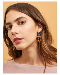 Les Nereides - Atlantide Blue Jellyfish Earrings - Lyst