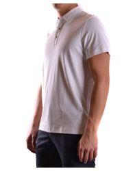Michael Kors - Men's Cs65fgvc93100 White Cotton Polo Shirt for Men - Lyst