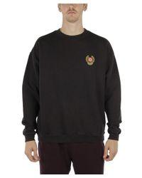 Yeezy - Men's Black Cotton Sweatshirt for Men - Lyst