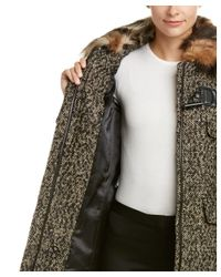 Trina Turk | Gray Wool & Alpaca-blend Coat | Lyst