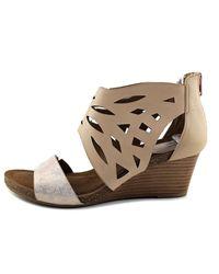 Söfft - Pink Riona Women Open Toe Leather Platform Sandal - Lyst