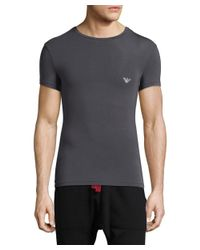 Emporio Armani - Black Underwear Premium Stretch T-shirt for Men - Lyst