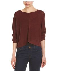 Bishop + Young - Red Crop Sweater - Lyst