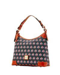 Dooney & Bourke - Multicolor Ncaa Ohio State Hobo Shoulder Bag - Lyst